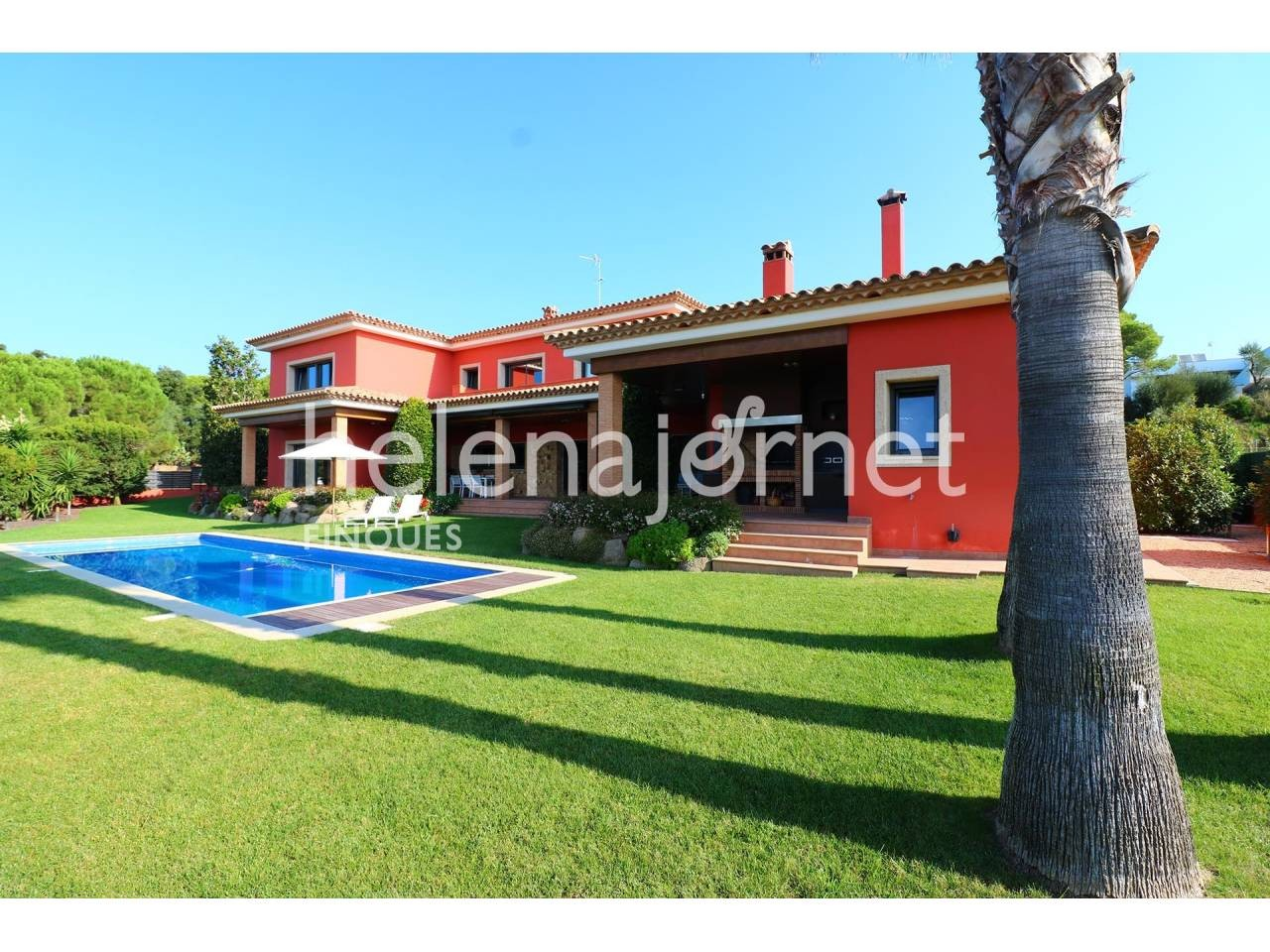 Marvellous and bright house with garden and pool in Santa Cristina d´Aro - 3516