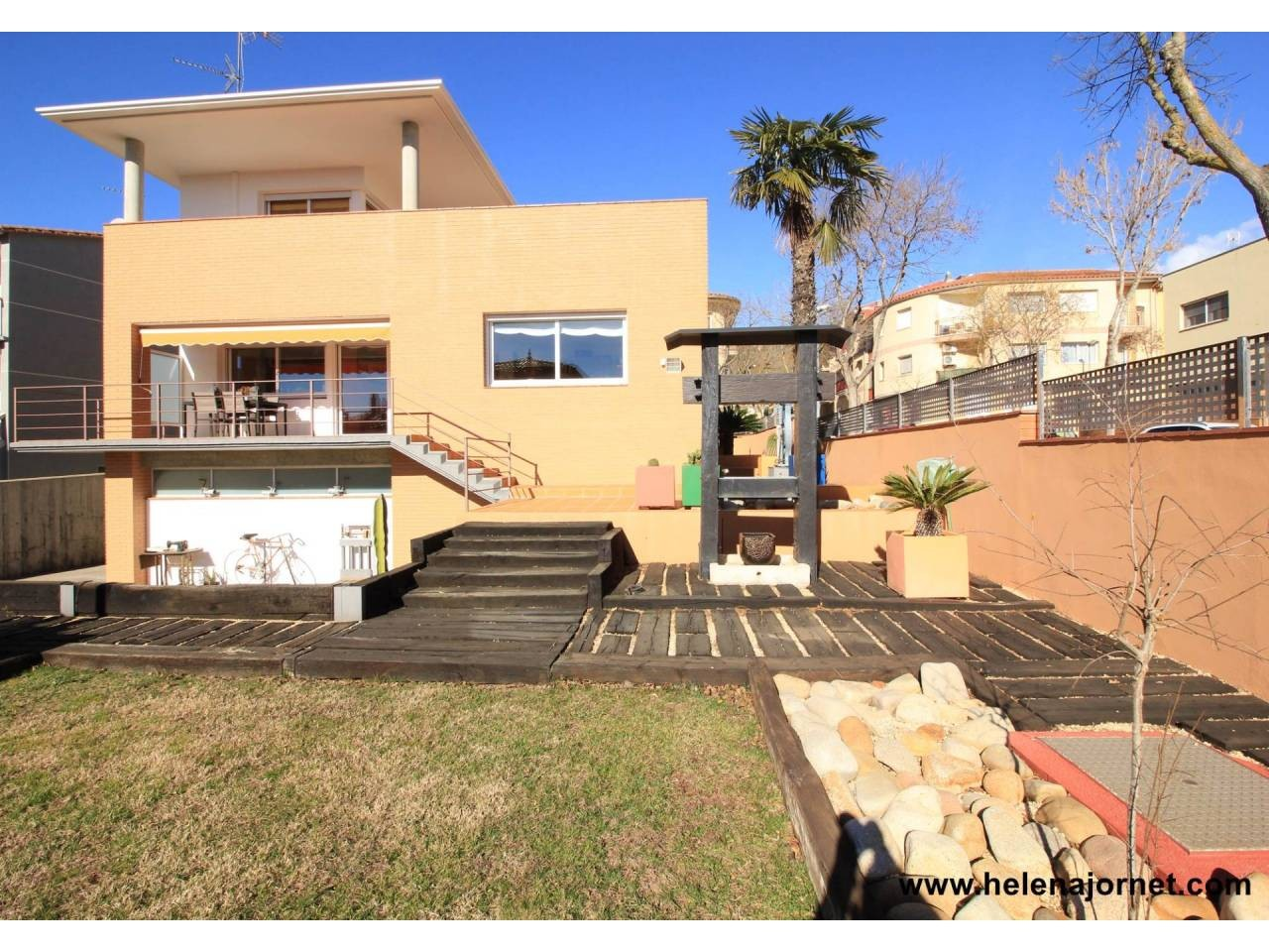 House with large garden and swimming pool in Castell d´Aro - 574